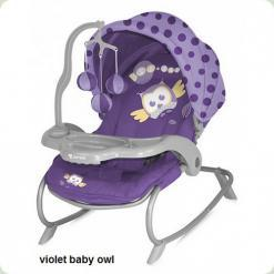 Шезлонг Bertoni DREAM TIME (violet baby owl lorelli)