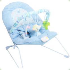 Шезлонг-качалка Bambi 30602-6 Блакитний