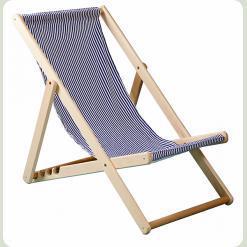 Шезлонг пляжний