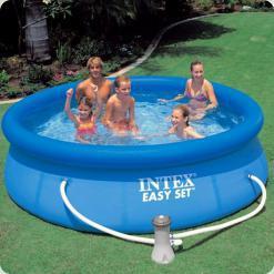 Сімейний басейн Intex 28112 Easy Set 244x76 см з фільтр-насосом