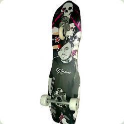 Скейт Explore Crossboard Чорний