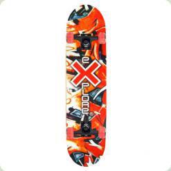 Скейт Explore Elife Червоне графіті