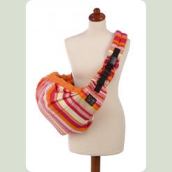 Слінг Womar Zaffiro №16 - червоно-помаранчевий (в смужку) - колір 05