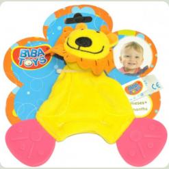 Слюнепоглощающій прорізувач-брязкальце Biba Toys Левеня (616JF lion)