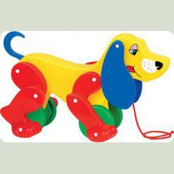 Собака-каталка Бобі