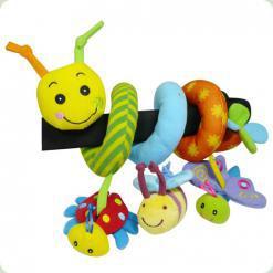 Спіраль на коляску Biba Toys Щасливий жучок (074GD)