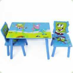 Стіл і 2 стільці Tilly W02-5152 Sponge Bob