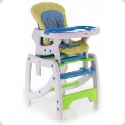 Стільчик для годування Babycare Duo Green / Blue ( C902 )