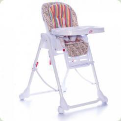 Стільчик для годування Babycare Mosaic Green Stripe