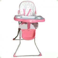 Стільчик для годування Bambi 8103 Рожевий
