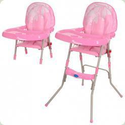 Стільчик для годування Bambi GL 217-8 Рожевий
