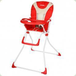 Стільчик для годування Bambi Q 01-Chair-3 Червоний