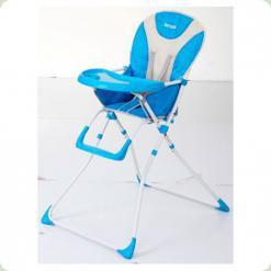 Стільчик для годування Bambi Q 01-Chair-4 Блакитний