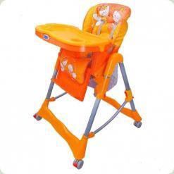 Стільчик для годування Bambi RT 002-7-5 Orange / Green