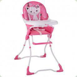 Стільчик для годування Bertoni CANDY (pink kitten)