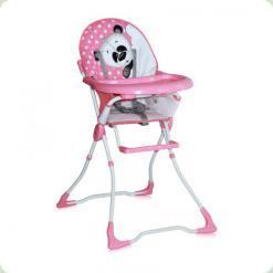Стільчик для годування Bertoni CANDY (pink panda)