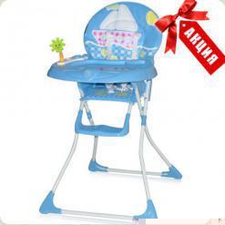 Стільчик для годування Bertoni JOLLY (blue sea) АКЦІЯ!