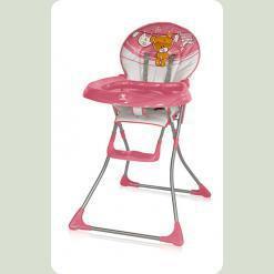 Стільчик для годування Bertoni Jolly Pink Teddy Bear