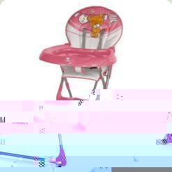 Стільчик для годування Bertoni JOLLY (pink teddy bear)