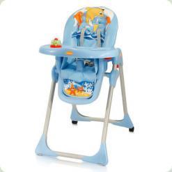 Стільчик для годування Bertoni Yam - Yam Blue Dolphins