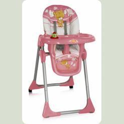 Стільчик для годування Bertoni Yam - Yam Pink Teddy Bear