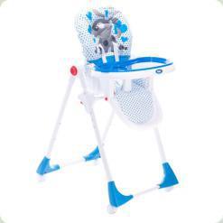 Стільчик для годування Mioo Matteo КМ90 DBI Блакитний