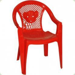 Стільчик пластиковий Kinderway Тигреня (25-031) Червоний