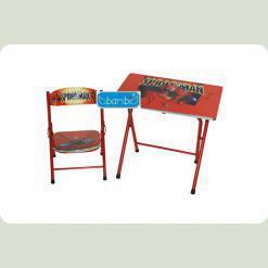 Столик Bambi DT 19-1 зі стільцем Спайдермен
