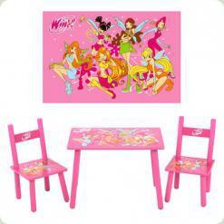 Столик Bambi зі стільцями M 1508 Winx