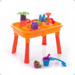 Столик-пісочниця Bambi M 0833 U / R Городок з млином
