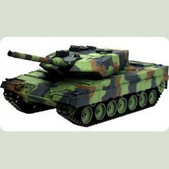 Танк р/у 2.4GHz 1:16 Heng Long Leopard II A6 з пневмогарматою і димом (HL3889-1)