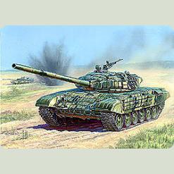 Танк з активною бронею Т-72Б
