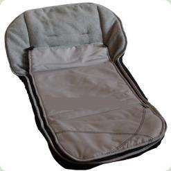 Теплий конверт для коляски Capella Grey Check