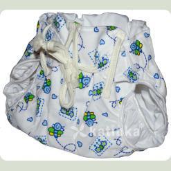 Тканинний підгузник на зав'язках Пчілки