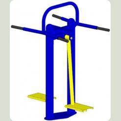 Тренажер для сідничних призводять-відвідних м'язів стегна