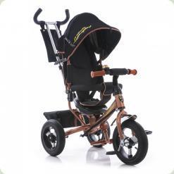 Триколісний велосипед Azimut AIR Lamborghini Коричнево-чорний