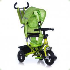 Триколісний велосипед Azimut Air Салатовий