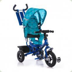 Триколісний велосипед Azimut Air Синій