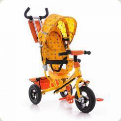 Триколісний велосипед Azimut Air Жовтий