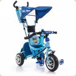 Триколісний велосипед Azimut Angry Birds Синій (BC-15AB)