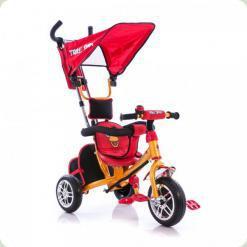 Триколісний велосипед Azimut Angry Birds Жовтий (BC-15AB)