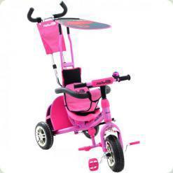 Триколісний велосипед Azimut BC-15 An Safari Рожевий