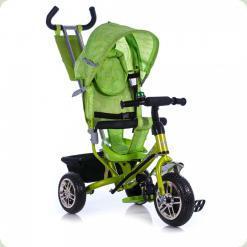 Триколісний велосипед Azimut BC-15B Air спиця Зелений