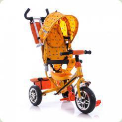 Триколісний велосипед Azimut BC-15B Air спиця Жовтий