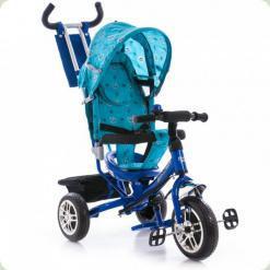 Триколісний велосипед Azimut BC-17 B2B Синій