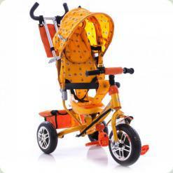 Триколісний велосипед Azimut BC-17 B2B Жовтий