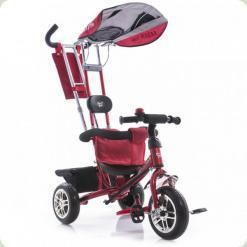 Триколісний велосипед Azimut Лексус Червоний