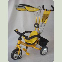 Триколісний велосипед Azimut Лексус Жовтий