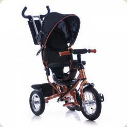 Триколісний велосипед Azimut Trike Air BC-17 Спиця Коричневий