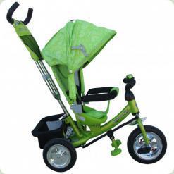 Триколісний велосипед Azimut Trike Air BC-17 Спиця Салатовий